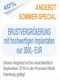 Angebot Brustvergrößerung Hamburg